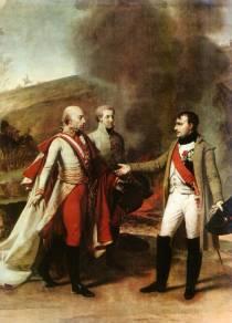 Spotkania Napoleona z cesarzem Franciszkiem