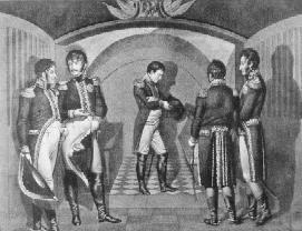 Napoleon przy grobie Fryderyka Wielkiego