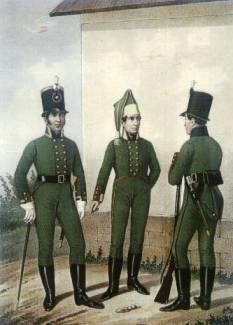 Jegrzy rosyjscy z lat 1806-1807