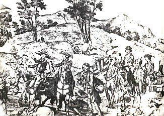 Armia pruska wycofuje się z Francji