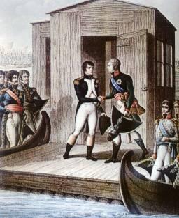 Napoleon i Aleksander na Niemnie
