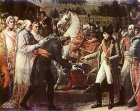 Wręczenie Napoleonowi kluczy do Wiednia