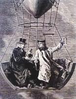 Gay - Lussac i Jean Bitom w balonie