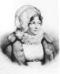 Emilia de Lavalette - grawiura Reynoldsa wg Carle'a Verneta
