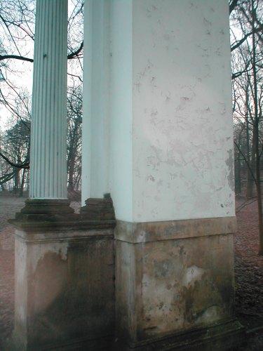 Obecny stan łuku w Jabłonnej