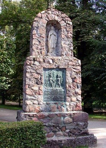 Pomnik weteranów w Kozłówce