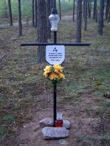 Krzyż w Krępkach