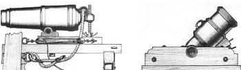Artyleria okrętowa XVIII wieku: koronada i moździerz