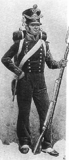 Marynarz z batalionu marynarzy Gwardii